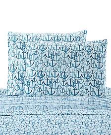 Anchors Standard Pillowcase Pair