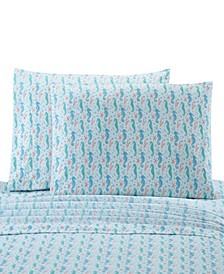 Seahorse Standard Pillowcase Pair