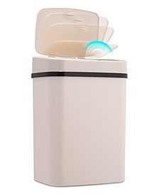 Nine Stars 3.2 Gallon Plastic Sensor Trash Can
