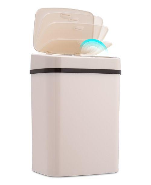 NINE STARS GROUP USA INC Nine Stars 3.2 Gallon Plastic Sensor Trash Can