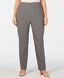 Charter Club Plus Size Cambridge Pants, Created for Macy's