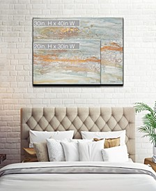Collection 'Hues of Gold' Canvas Wall Art Collection