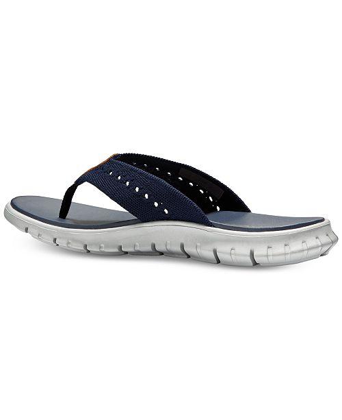87f78094fad6 Cole Haan Men s ZeroGrand Stitchlite Thong Sandals   Reviews - All ...