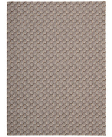 "Calvin Klein Home Area Rug, CK11 Loom Select Neutrals LS16 Pasture Smoke 7'9"" x 10'10"""