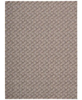 Calvin Klein Home Area Rug, CK11 Loom Select Neutrals LS16 Pasture Smoke 2'3