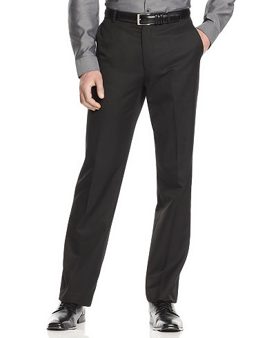 Calvin Klein Men's Slim Fit Dress Pants - Suits & Suit Separates ...