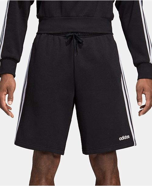 adidas fleece shorts mens