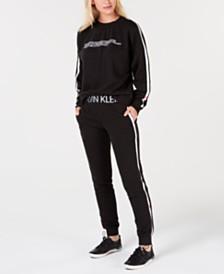 Calvin Klein Statement 1981 Sweatshirt & Jogger Pant Collection