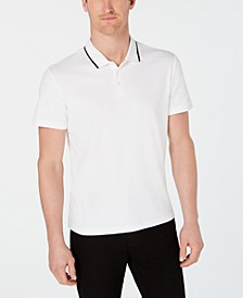 Men's Classic Fit Tipped Polo, Created for Macy's