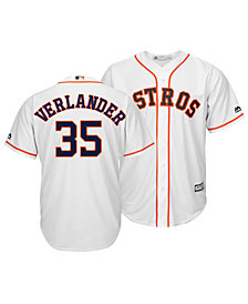 Majestic Men's Justin Verlander Houston Astros Player Replica Cool Base Jersey