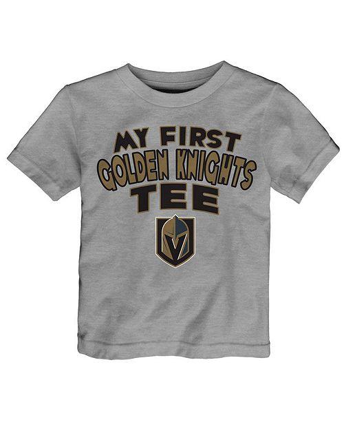 Outerstuff Vegas Golden Knights My First T-Shirt, Infants (12-24 Months)