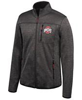 Authentic NCAA Apparel Men s Ohio State Buckeyes Heathered Flint Rock  Full-Zip Jacket c05137a426