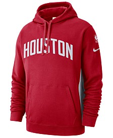 Nike Men's Houston Rockets Earned Edition Courtside Hoodie