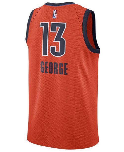 cheap for discount 0eabc 22212 ... Nike Men s Paul George Oklahoma City Thunder Earned Edition Swingman  Jersey ...