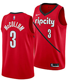 Nike Men's C.J. McCollum Portland Trail Blazers Earned Edition Swingman Jersey