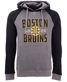 Majestic Men's Boston Bruins Antique Tri-Blend Hoodie