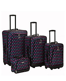 Rockland 4-Piece Icon Luggage Set