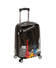 "Rockland Travels 20"" Hardside Carry-On"