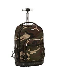 "Rockland 19"" Rolling Backpack"