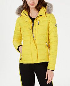 Superdry Fuji Slim Hooded Puffer Jacket