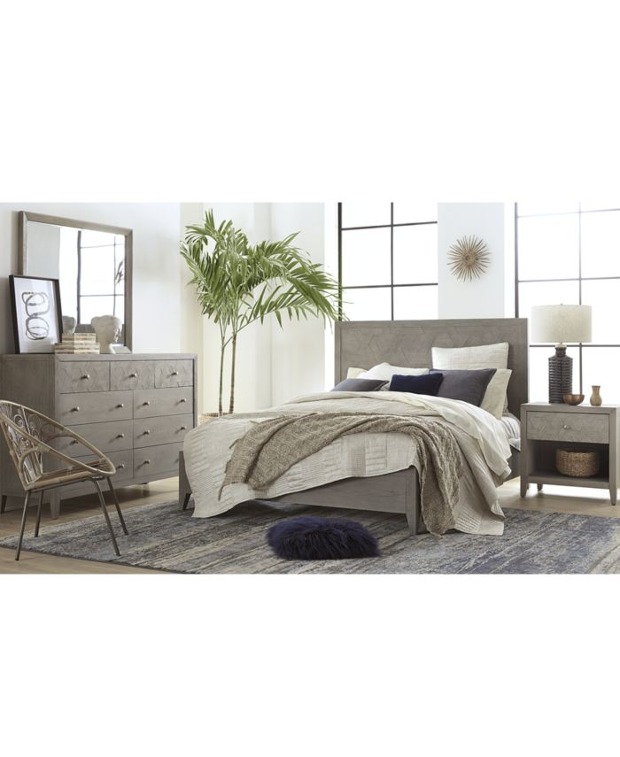 Furniture Parquet King Bed, Created for Macy's & Reviews - Furniture - Macy's