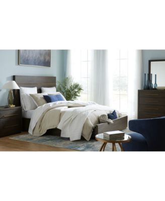 Cambridge Storage Platform Bedroom Furniture, 3-Pc. Set (Full Bed, Dresser & Nightstand), Created for Macy's