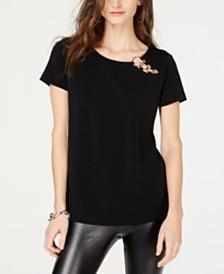 I.N.C. O-Ring T-Shirt, Created for Macy's