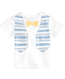 First Impressions Baby Boys Vest Graphic T-Shirt, Created for Macy's