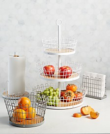 Martha Stewart Collection Kitchen Countertop Organization, Created for Macy's