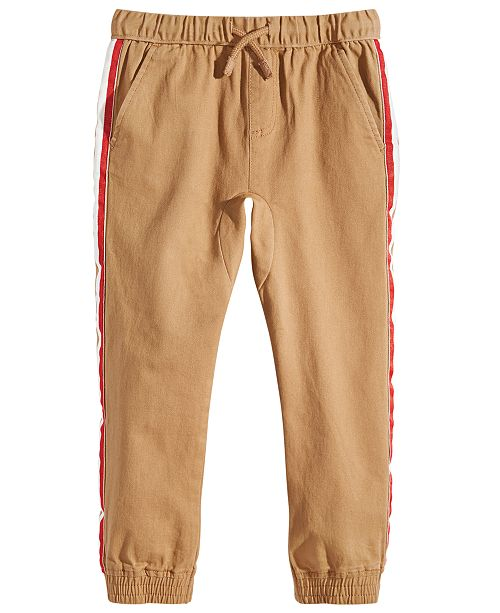 Epic Threads Toddler Boys Sand Tape Jogger Pants, Created for Macy's