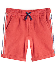 Epic Threads Little Boys Side Striped Shorts, Created for Macy's