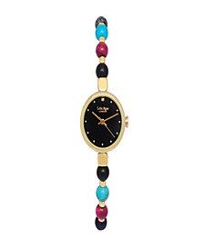 "Lola Rose ""Kindness"", Ladies, Genuine Jewel Mix Beaded Friendship Bracelet, 22MM"
