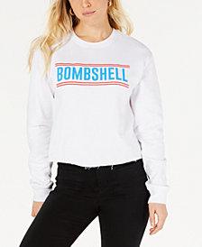 Love Tribe Juniors' Bombshell Graphic Sweatshirt