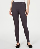 fe4291bd655ef Style & Co Twill Pull-On Leggings, Created for Macy's