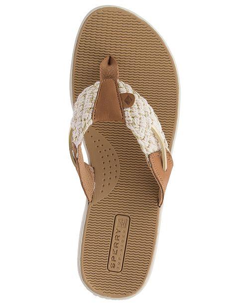 8c6be66be774 Sperry Women s Parrotfish Flip-Flop Sandals   Reviews - Sandals ...