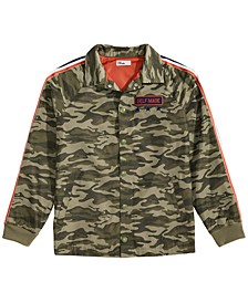 Big Boys Camo-Print Jacket, Created for Macy's