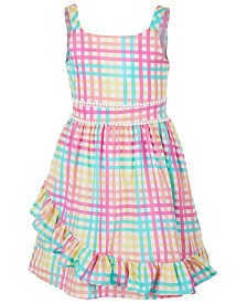 Us Angels Big Girls Gingham Dress