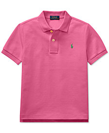 Polo Ralph Lauren Little Boys Mesh Cotton Polo