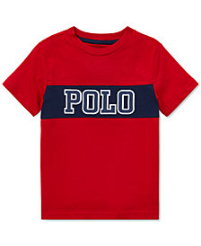 Polo Ralph Lauren Little Boys Logo Graphic Cotton T-Shirt