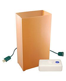 LumaBase Set of 10 Electric Luminaria Kit with LumaBases