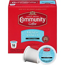 French Vanilla Medium Roast Single Serve Pods, Keurig K-Cup Brewer Compatible, 72 Ct