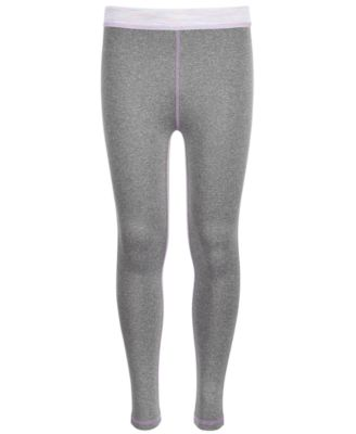 Big Girls Space-Dyed-Trim Leggings, Created for Macy's