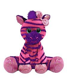 First and Main - 7 Inch Gal Pals Plush, Zuri Zebra