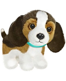 First and Main - Wuffles Beagle  Plush Dog, 7 Inches Sitting
