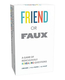 Pressman Games = Friend Or Faux Game