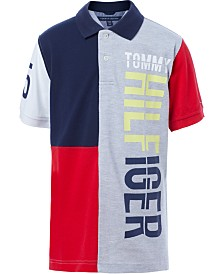 Tommy Hilfiger Little Boys Colorblocked Logo Polo