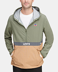 Levi's® Men's Colorblocked Water Resistant Popover Jacket
