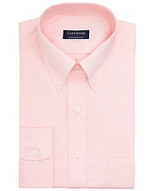 Club Room Men's Slim-Fit Performance Stretch Wrinkle-Resistant Pinpoint Dress Shirt, Created for Macy's