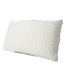 Protect-A-Bed Queen Therm-A-Sleep Snow Classic Down Alternative Pillow ft. Nordic Chill Fiber and Tencel Collection