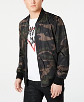 1a7cb584188cf GUESS Men's Water Resistant Bomber Jacket